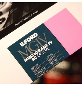 Ilford Ilford Multigrade IV RC Glossy paper (25 sheets)