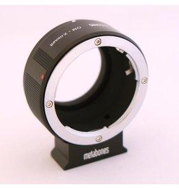 Metabones Metabones Olympus OM-Fuji X mount adapter.