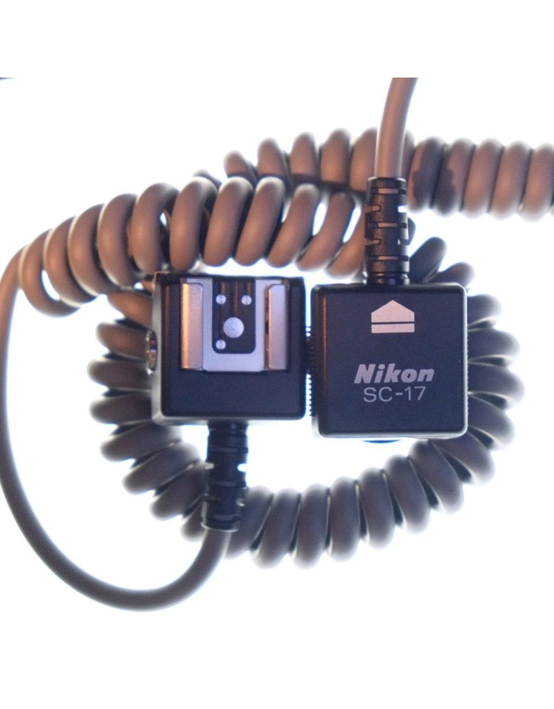 RENTAL Nikon SC-17 remote TTL flash cable rental.