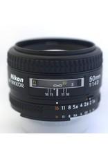 RENTAL Nikon 50mm f1.4D AF Nikkor rental.