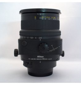 RENTAL Nikon 85mm f2.8D PC Micro-Nikkor tilt/shift lens rental.