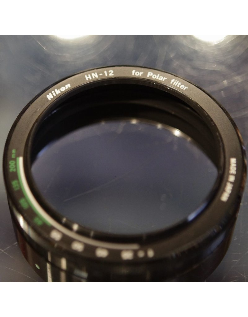 Nikon Nikon HN-12 lens hood for Nikon polarizing filter.