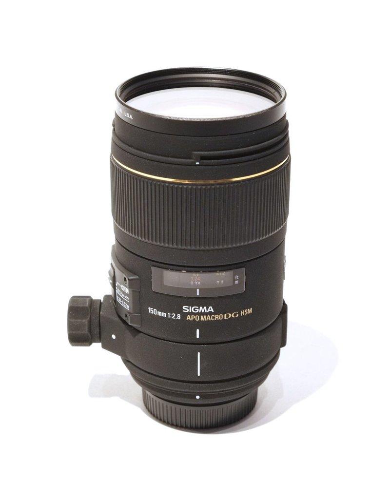 RENTAL Sigma 150mm f2.8 APO Macro DG HSM rental.
