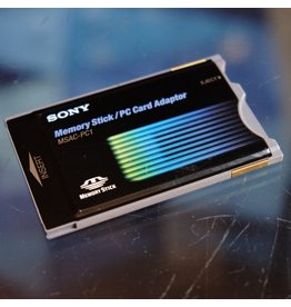 Sony Sony MSAC-PC1 Memory Stick Adapter for PCMCIA.