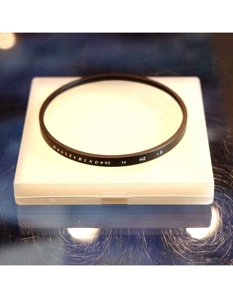 Hasselblad Hasselblad Haze filter for 93mm drop-in filter mount.