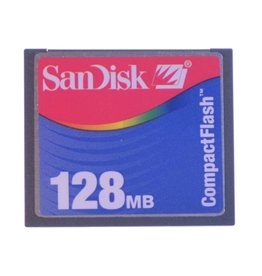 Other 128mb Compact Flash card.