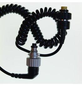 Nikon Nikon SB-105 flash (5-pin) to Nikonos body connector cable.
