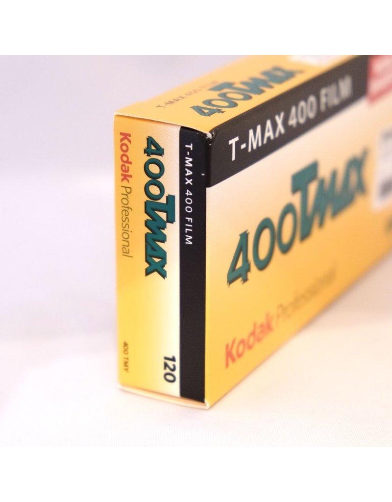 Kodak Kodak TMax 400 black and white film. 120.