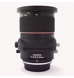 RENTAL Rokinon ED AS UMC 24mm f3.5 Tilt/Shift rental.