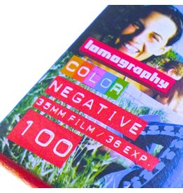 Lomography Lomography ISO 100 Colour Negative film 3-pack (135/36)
