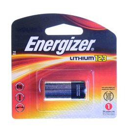 Energizer Energizer CR123 Lithium Battery (3v)