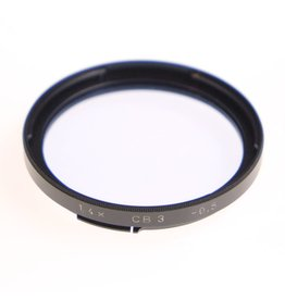 Hasselblad Hasselblad CB3 colour correction filter for B50 bayonet filter mount.