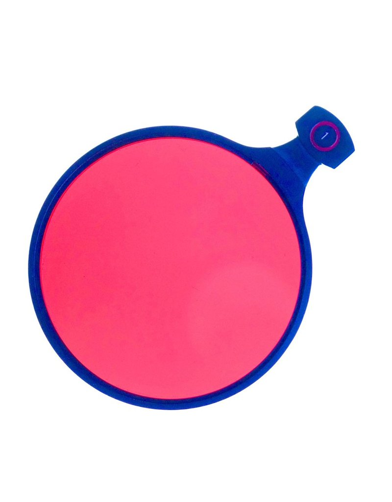 Linhof Linhof 70mm slip-in filter, Red 1.