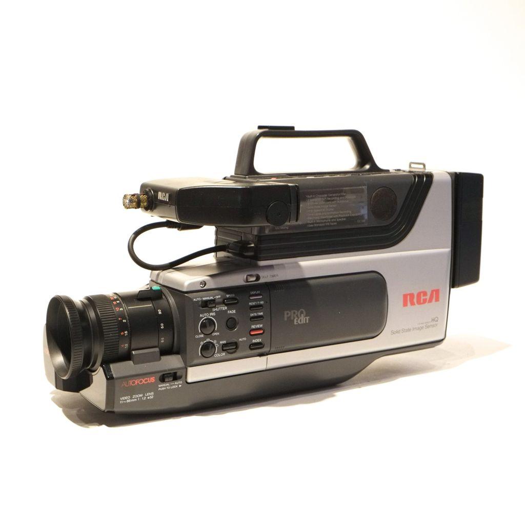 Rca Rca Cc310 Proedit Vhs Camcorder C 1989 Camera Traders