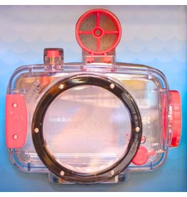 Underwater housing for Lomography Fisheye camera.