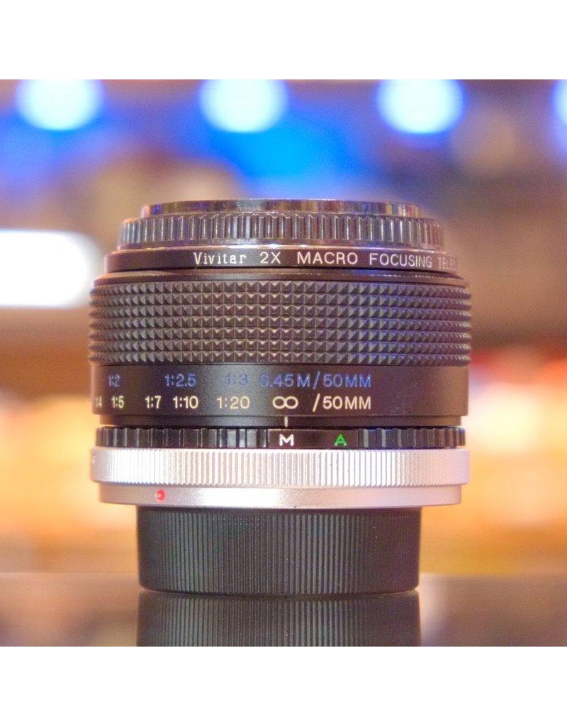 Vivitar Vivitar 2x Macro Focusing Teleconverter for Canon FD.