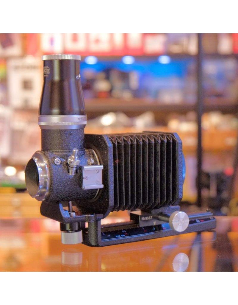 Leica Leitz Visoflex I bellows outfit.