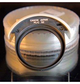 Canon Canon PLC-52 drop-in circular polarizer.
