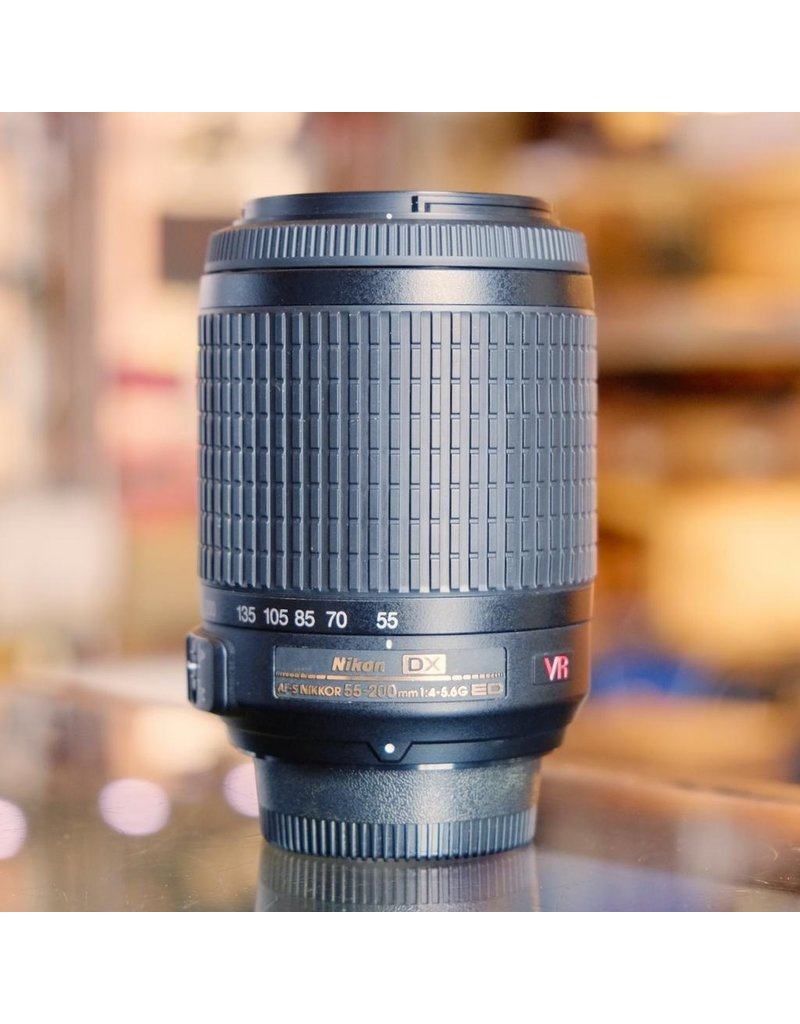 Nikon Nikon 55-200mm f4-5.6G ED DX VR AF-S Nikkor.