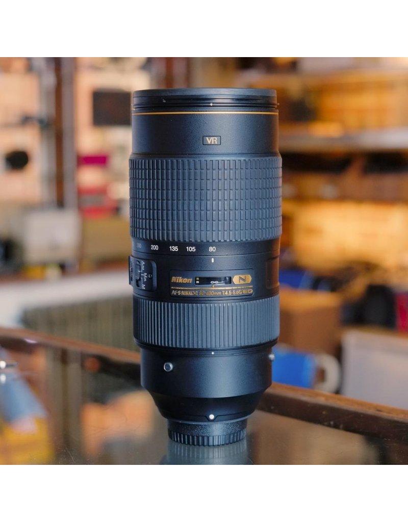 Nikon Nikon 80-400mm f4.5-5.6G ED VR AF-S Nikkor.