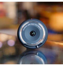 Olympus Olympus 9mm f8 Fisheye.