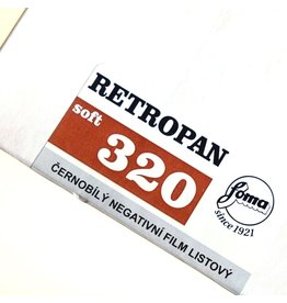 Foma Foma Retropan 320 Soft. 4x5 (50 sheets)
