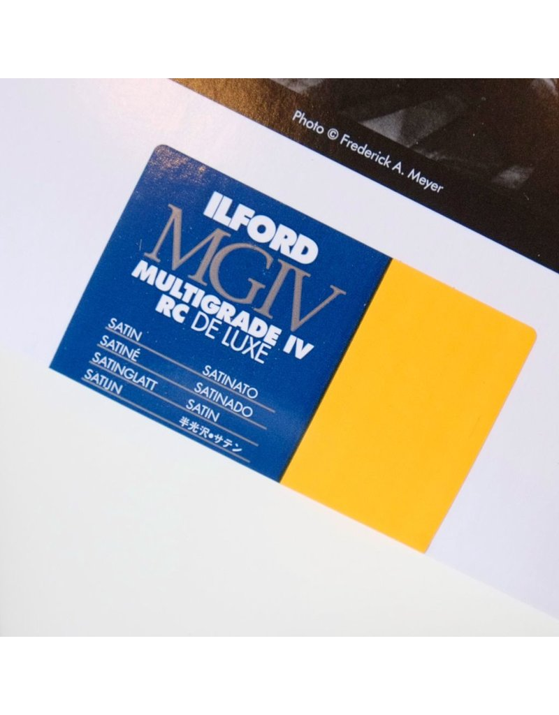 Ilford Ilford Multigrade IV RC Satin paper (25 sheets)