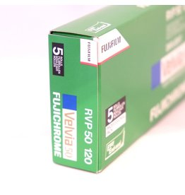 Fujifilm Fujifilm Velvia 50 colour transparency film. 120.