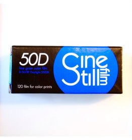 Cinestill Cinestill 50 Daylight colour negative film. 120.
