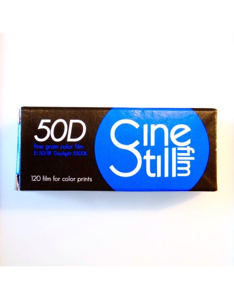 Cinestill Cinestill 50 Daylight colour negative film. 120.