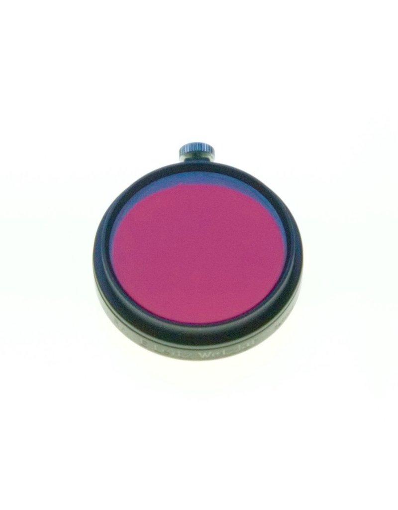 Leica Leitz A36 FEDOO (Rh, dark red) filter.