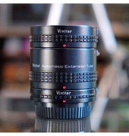Vivitar Vivitar extension tube set for Pentax K.