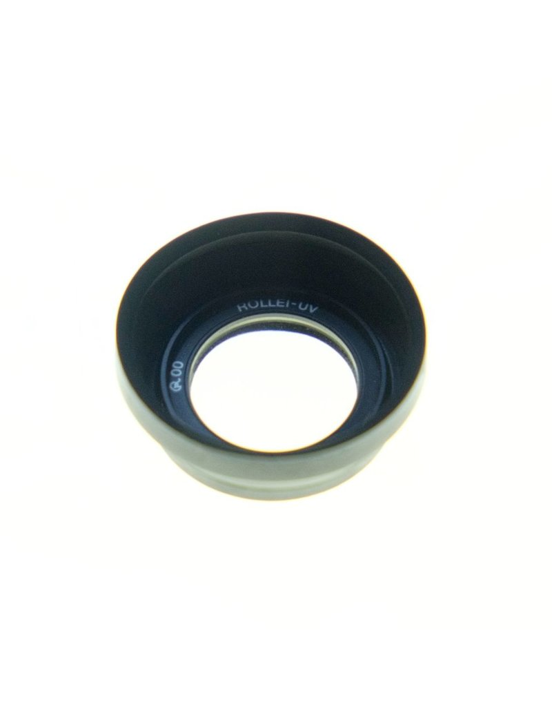 Rollei Rollei R00 UV filter and rubber hood for Rollei 35.