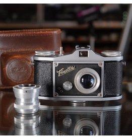 Other Finetta IV-D w/ 40mm f2.8 & 70mm f6.3.