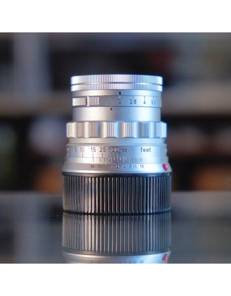 Leica Leitz 5cm f2 Summicron (Type 1)