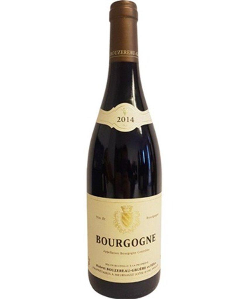 Hubert Bouzereau Bourgogne Rouge 2016