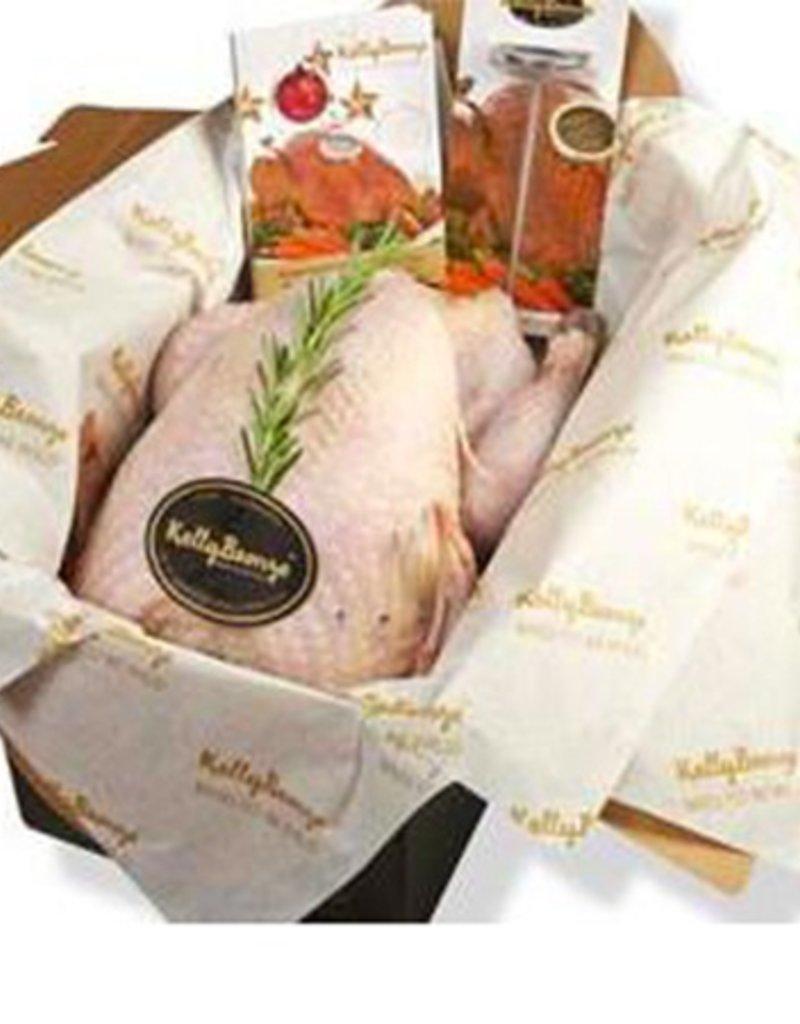 Kelly's Bronze Turkey 13-15lbs @ $12.99/lb