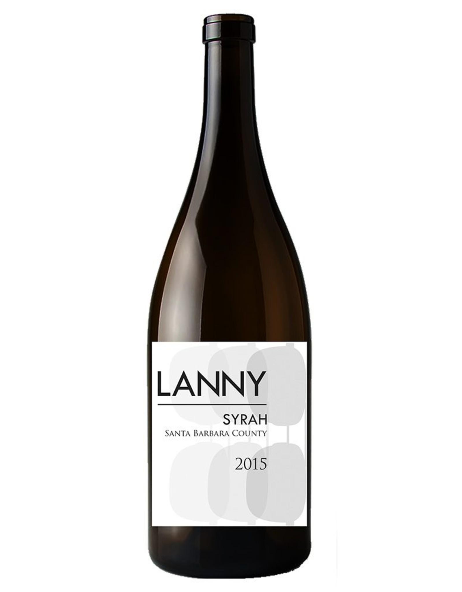 Lanny Lanny Syrah Santa Barbara 2018 - Arrival End of Sept 2020