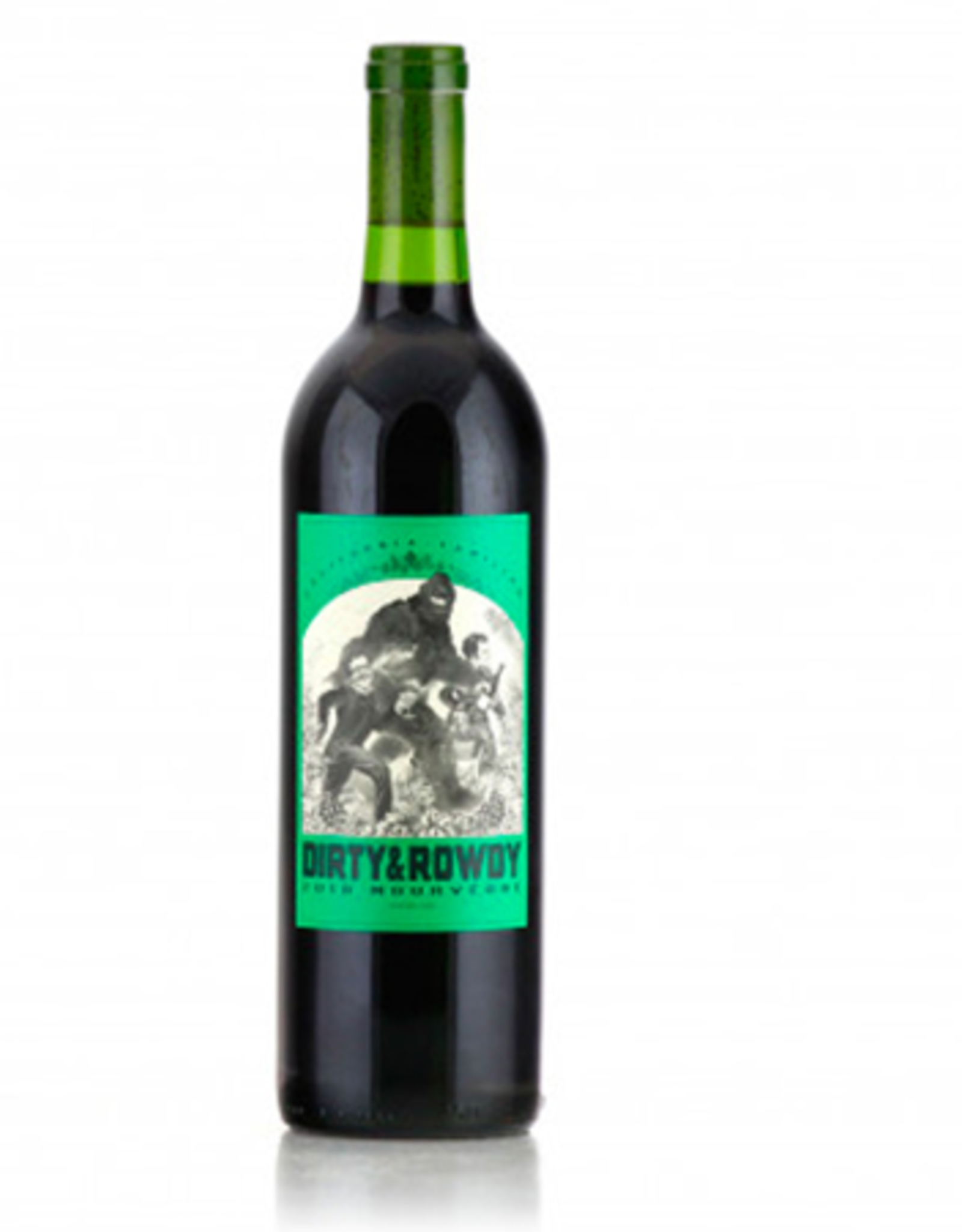 "New Item Dirty & Rowdy California Mourvedre ""Familiar"" 2018"