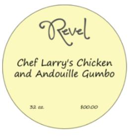 New Item Chef Larry's Chicken & Andouille Gumbo Pint