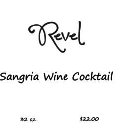 Revel Sangria Wine Cocktail 32oz