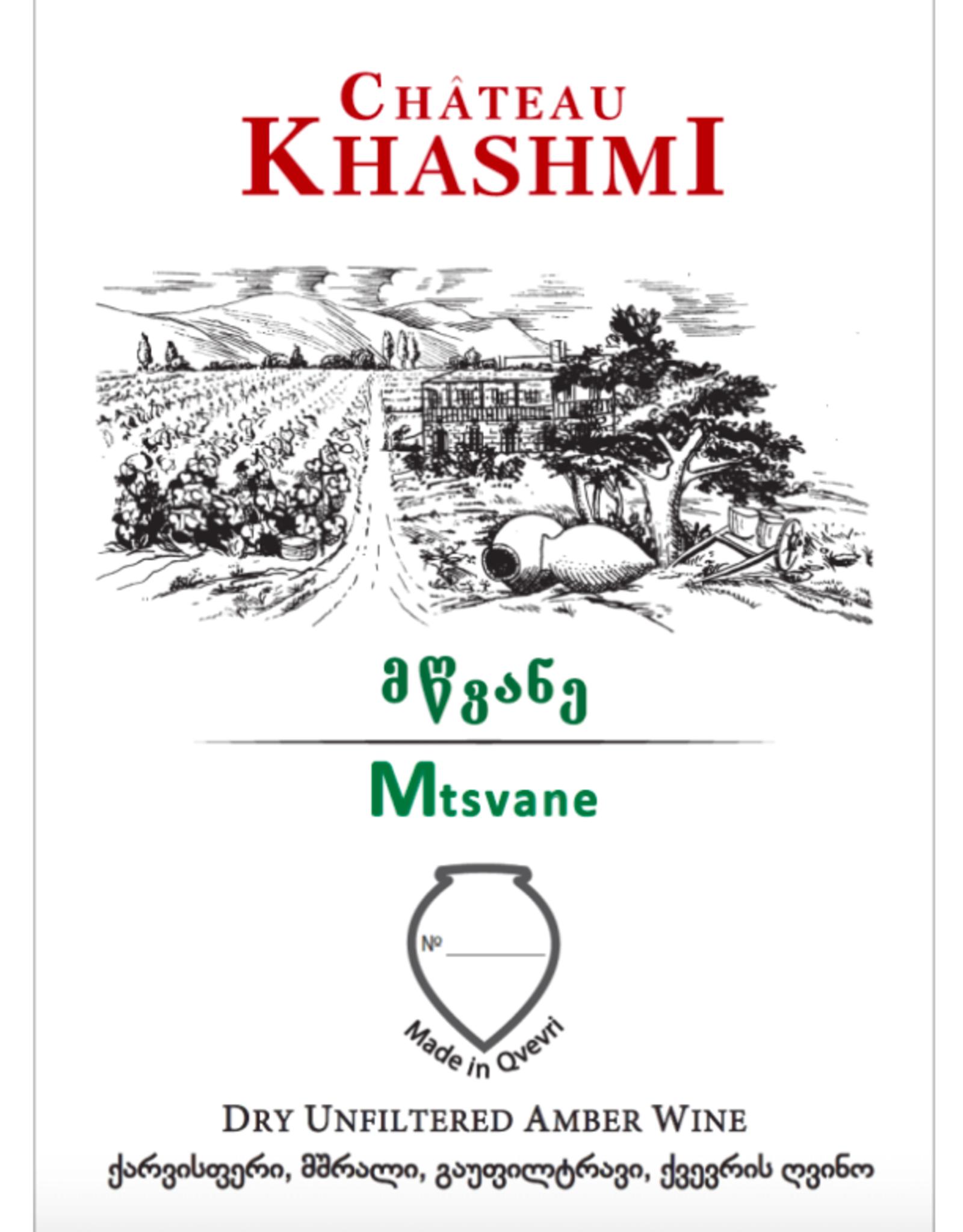 New Item Chateau Khashmi Mtsvane Amber 2017