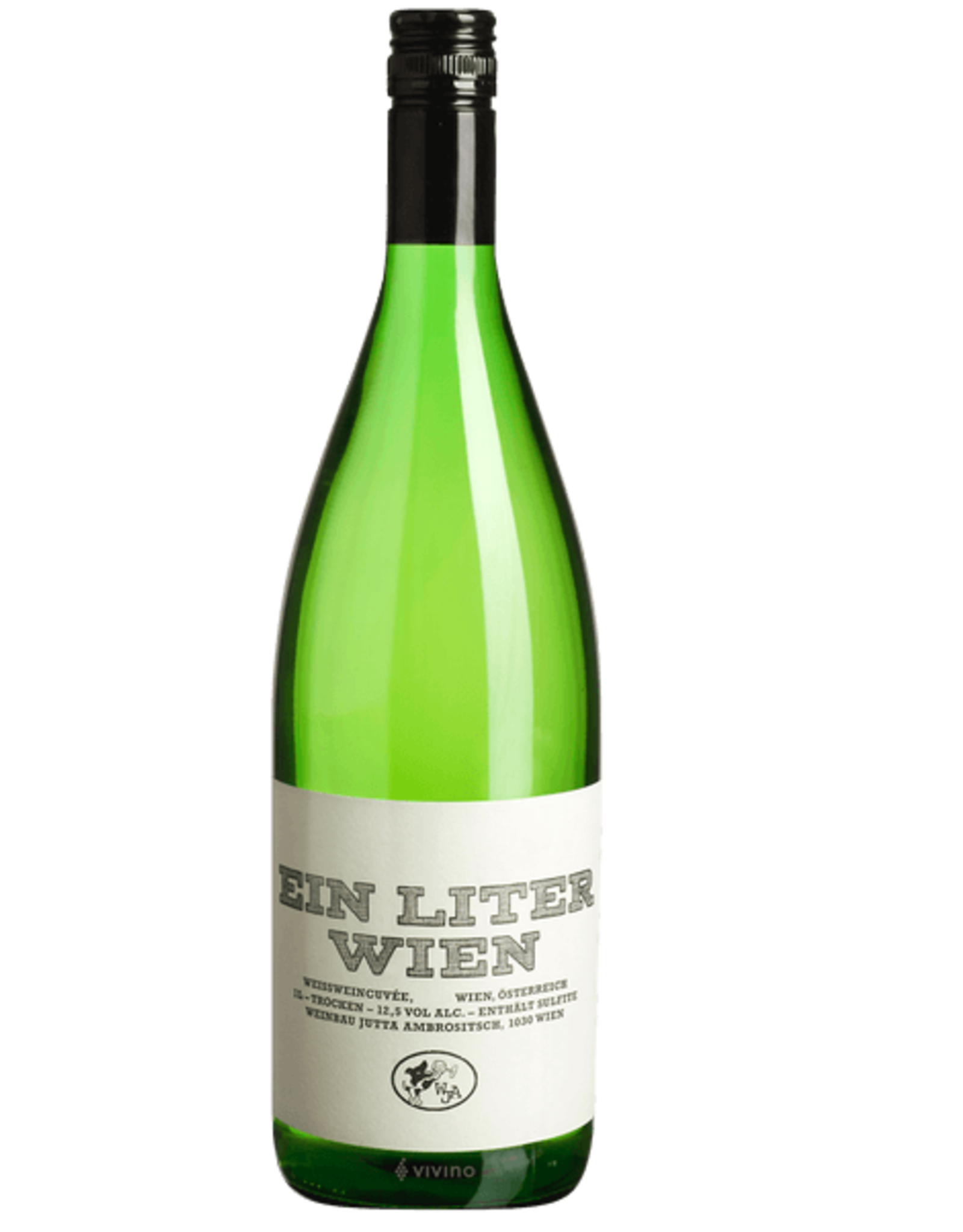 New Item Jutta Ambrositsch Ein Liter Wien White Blend 2018 1L