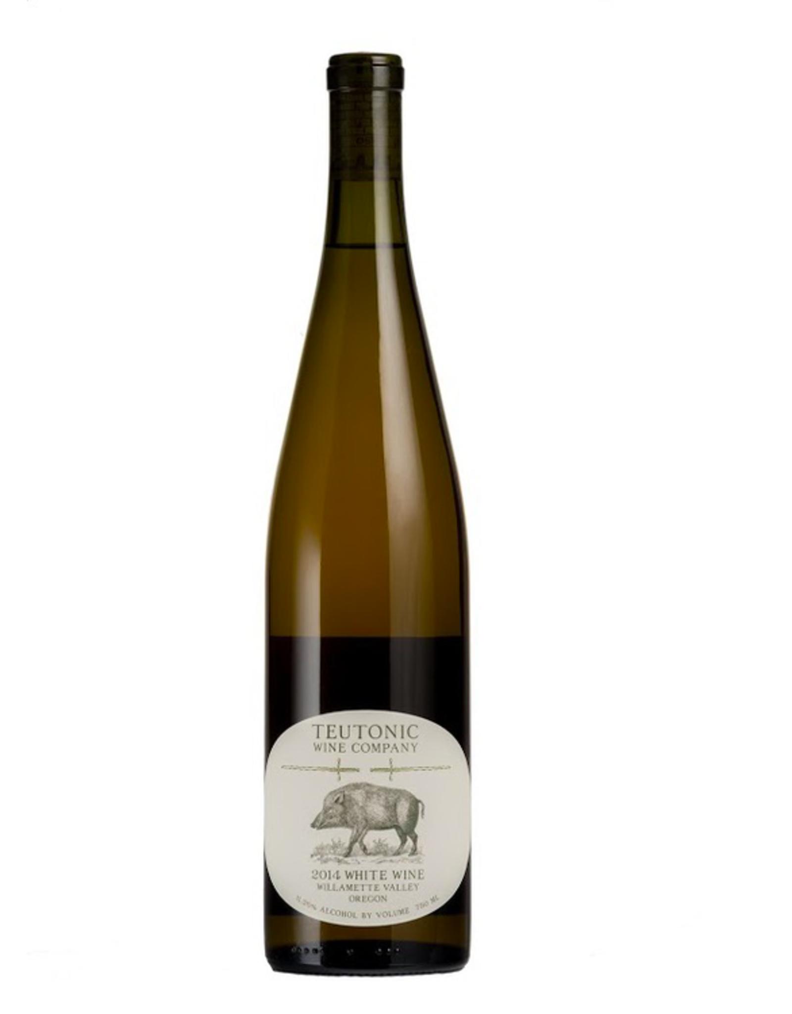 New Item Teutonic Pigs & Swords White Blend Magnum 1.5L