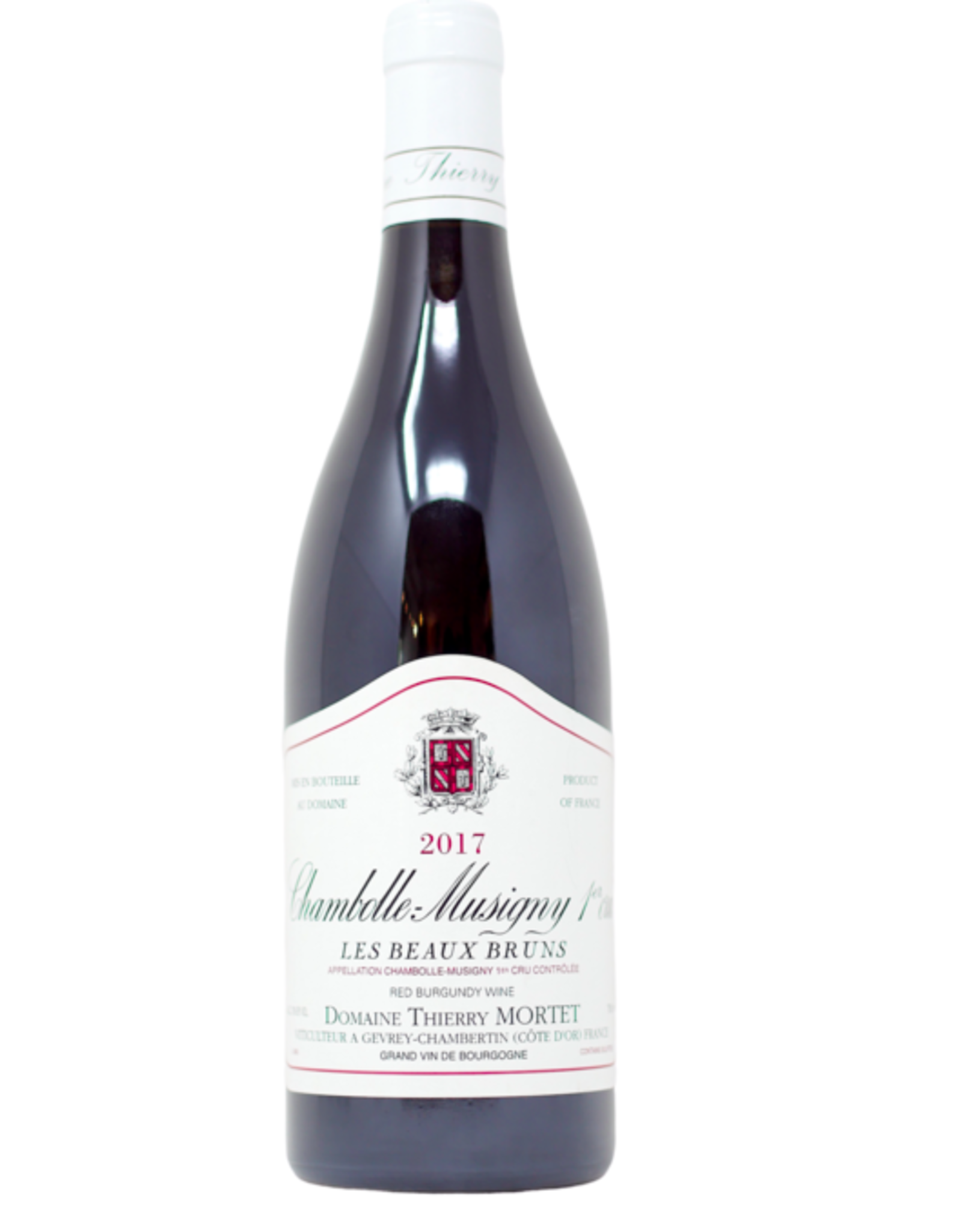 New Item Domaine Thierry Mortet Chambolle Musigny 1er Cru 2018 Mag
