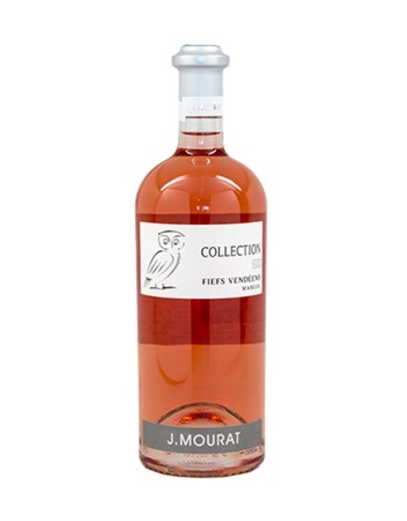 """J. Mourat Rose """"Collection"""" Fiefs Vendeens 2018"""