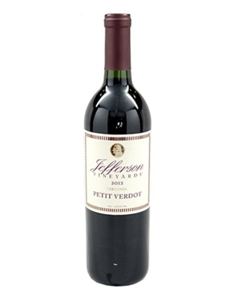 Jefferson Vineyards Jefferson Vineyards Petit Verdot 2015