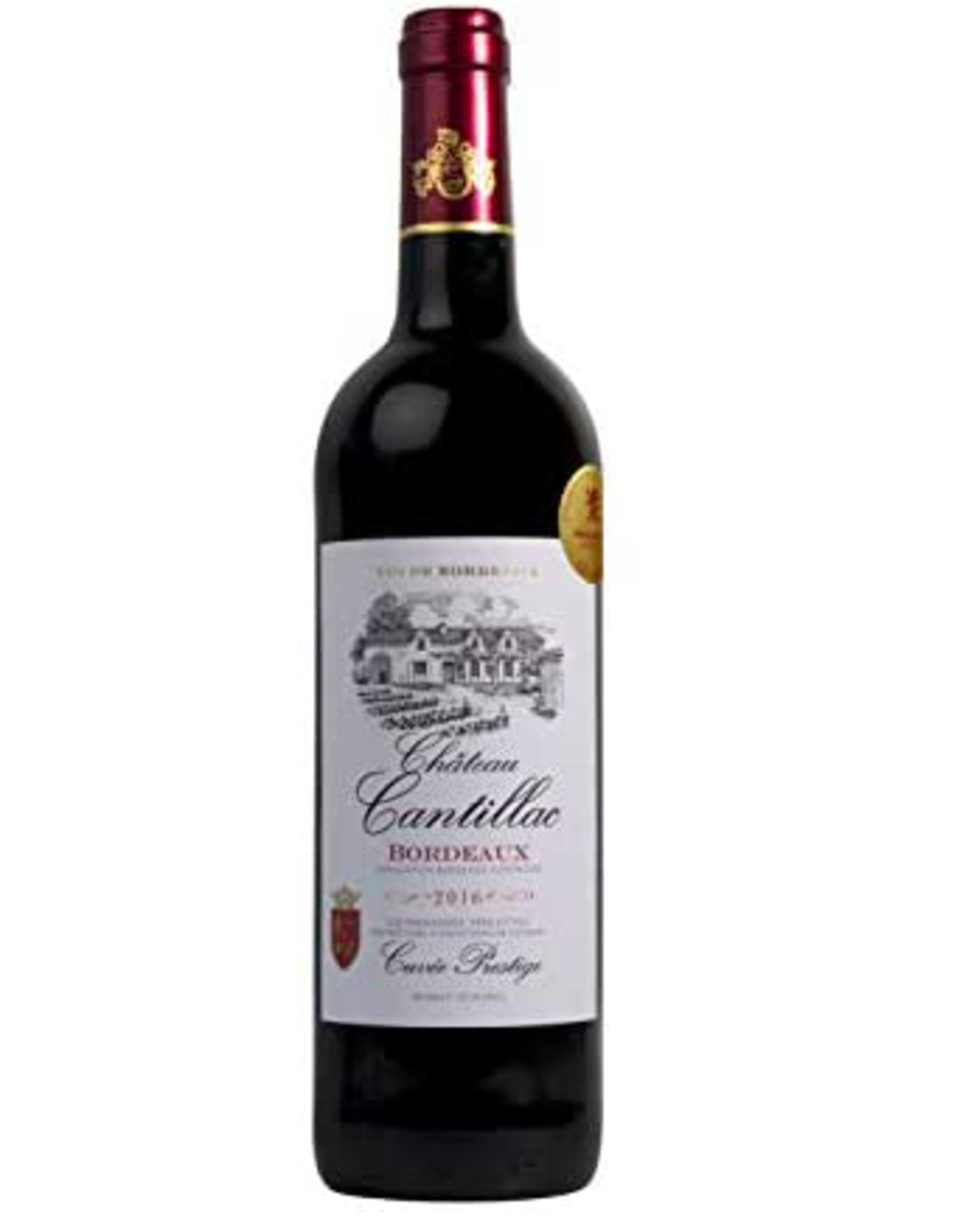 New Item Chateau Cantillac Rouge Bordeaux Superieur 2019