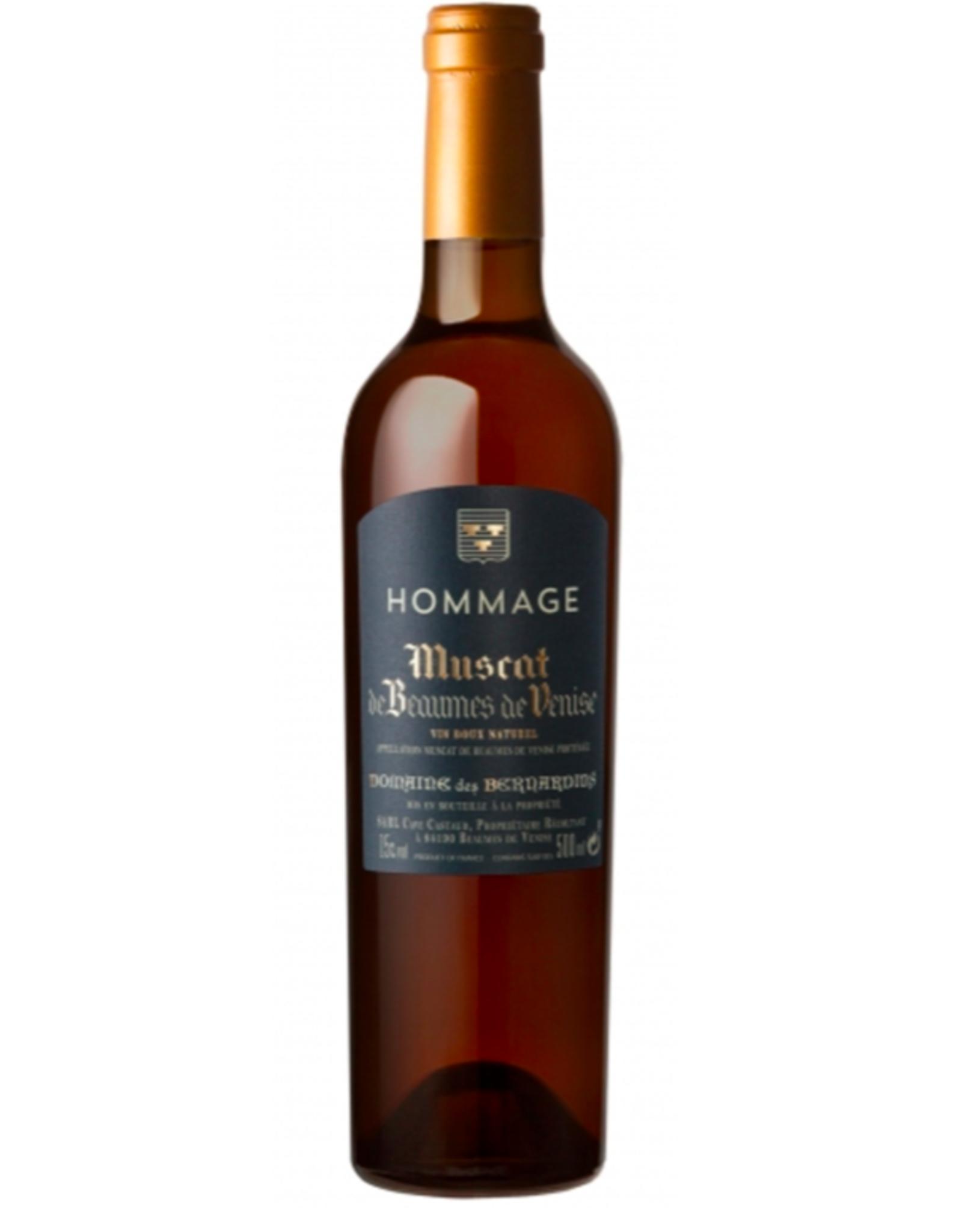 New Item Domaine des Bernardins Muscat Beaumes de Venise Hommage 500ml