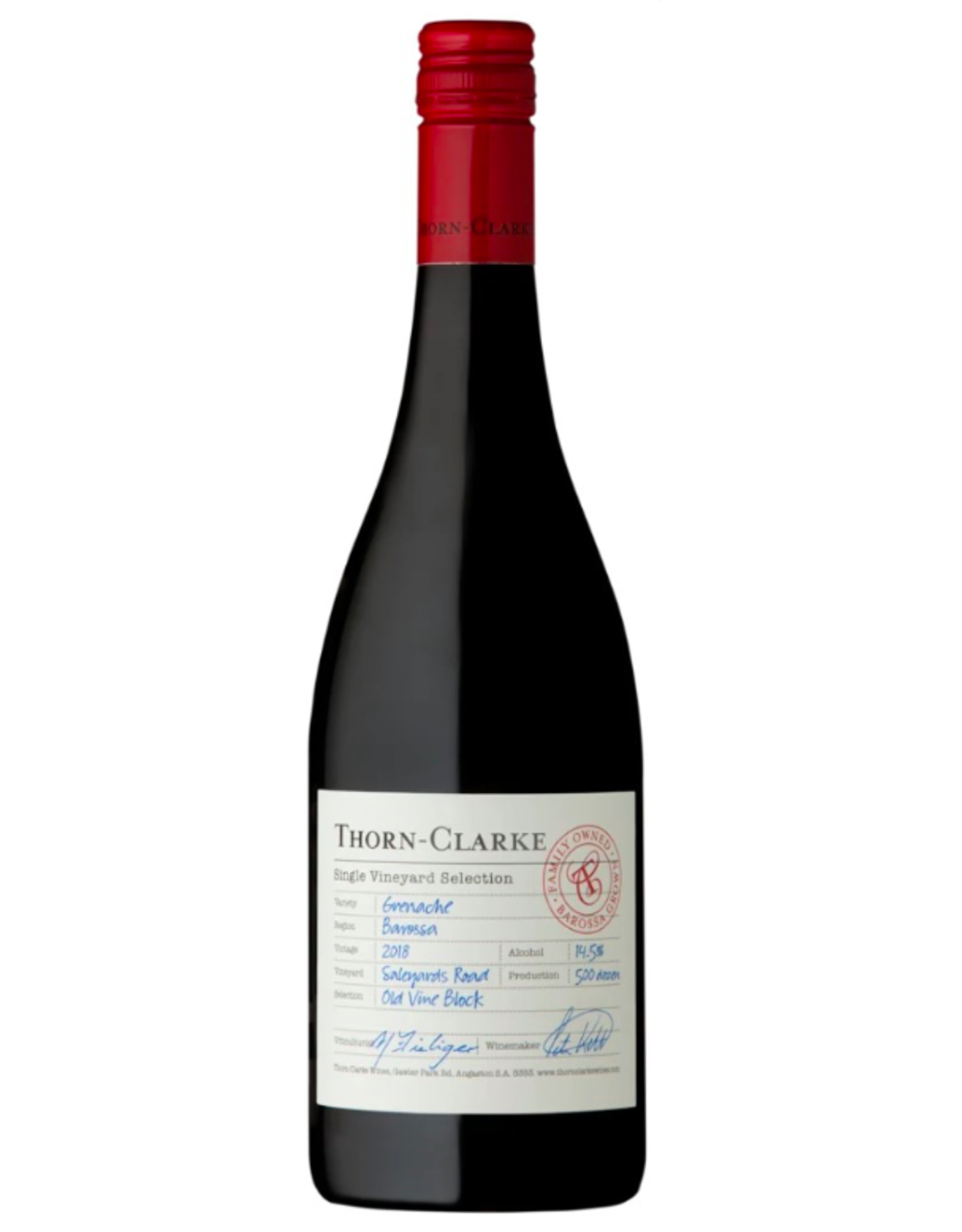 New Item Thorn Clarke Grenache Saleyards Road Barossa 2018